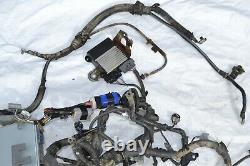 06 Toyota Hilux 2KD-FTV Turbo Diesel 5MT Engine Wire Harness Loom Ecu KUN15 2KD