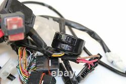 08-16 Yamaha Yzf R6 YEC Main Engine Wiring Harness Motor Wire Loom C4