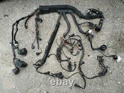 1998 Bmw E36 M3 S50 3.2 S50b32 Dme Ecu Engine Wiring Loom Harness Rhd
