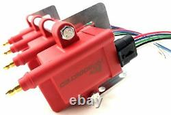 4 Hi Output Ignition Coils with Bracket & Wire Harness Kit Smart Coil IGN1A 4cyl