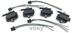 4 IGNITION COILS for Marine with Harness 3008M0077471 MERCURY OPTIMAX 339879984T00