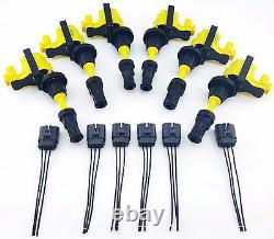 90-96 Fairladyz 300zx Ignition Coil Packs & Pigtail Wire Harness Vg30dett Vg30de