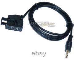 AUX Line In Adapter für Radio Navi MAN TGX TGS / MP3 iPhone iPad iPod #5770