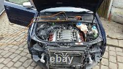 Audi S4 V8 Bbk Engine Wiring Loom/harness Complete With Ecu & Box, Relays Etc