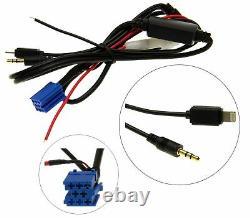 Aux In Adapter Kabel 8P iPhone 5 6 iPad iPod Lightning für VW Radio Beta Gamma 5