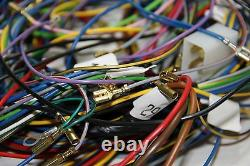 Classic Fiat 500 L Electrical Wiring Kit L. H. D. Wiring Loom Harness High Quality