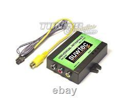 DVD Video Multimedia Adapter Rückfahrkamera Interface TV Free für VW MFD 2 RNS2