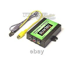 DVD Video Multimedia Adapter Rückfahrkamera Interface + TV Free für VW MFD RNS-D