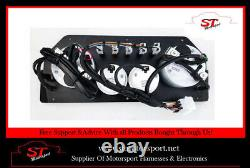 Escort MK2 Motorsport Rally Complete Wiring Loom Harness & Racetech Gauges