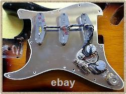 Fender Stratocaster drop in FULLY LOADED pickguard wiring kit loom harness