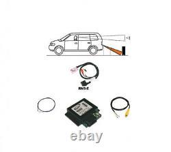 Für Audi RNS-E RNSE Original Kufatec Rückfahrkamera Interface + Kabelbaum Kamera