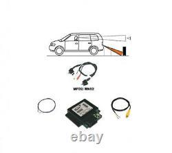 Für VW MFD 2 RNS2 Original Kufatec Rückfahrkamera Interface + Kabelbaum Kamera