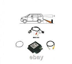 Für VW RNS 315 510 Original Kufatec Rückfahrkamera Interface + Kabelbaum Kamera