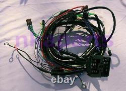 HOLDEN HQ HJ V8 chev 6cly Std Dash Headlight Enigne Wiring Loom Harness