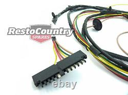 Holden Rear Body Wiring Loom HX HZ Ute or Panel Van wire harness grommet plug