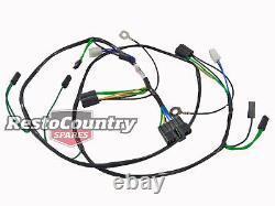 Holden TWIN Headlight + Horn Wiring Loom / Harness HX HZ H4 +H1 NEW wire light