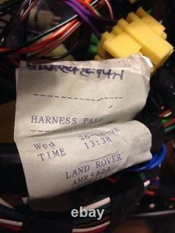 Land Rover Discovery 1 Main Wire Wiring Loom Cable Harness Fuses AMR 5223 NEW