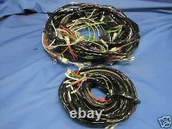 Mg New Mgb Gt V8 Taped Wiring Loom Harness Rubber Bumper Model 639 M2b