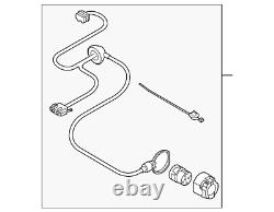 NEW Genuine Audi Q5 8R Trailer Tow Hitch Wire Wiring Loom Harness 8R0971541C