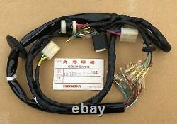 NOS Genuine Honda Wiring Loom Harness for Honda CT70 K3 K4 (32100-098-951)