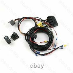 RDX Electric Window K Switch Wiring Harness Loom kit Plug & Play Defender