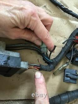 Suzuki GSXR750 GSXR 750 GSXR1100 Slingshot Wiring Loom Harness Switches Etc