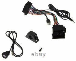 USB AUX In Adapter Klinke MMT Radio Einbau Buchse Kabel Set für MAN TGX TGS TGL