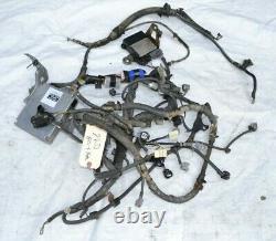 06 Toyota Hilux 2kd-ftv Turbo Diesel 5mt Moteur Harness Loom Ecu Kun15 2kd