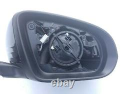 15-21 Mercedes C W205 Mirre Complet Black Hat Droit / Blind Spot /camera Complet