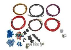 22 Circuit Universal Wiring Harness / Loom Eazy Wiring Suit Hot Rod, Rat Rod