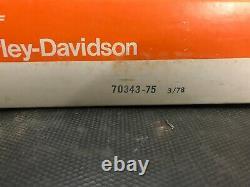 Harley Davidson Nos Oem Fx Fxe Shovelhead Main Wire Wiring Harness Loom 70343-75 Harley Davidson Nos Oem Fxe Shovelhead Main Wire Wiring Harness Loom 70343-75 Harley Davidson Nos Oem Fxe Shovelhead Main Wire Wiring Harness Loom 70343-75 Harley Davidson Nos O
