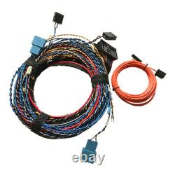 Hifi Audio Retrofit Harness Wiring Fit Pour Bmw F01 F10 F25 F15 F30 Harman Kardon