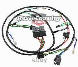 Holden H4 H1 Twin Phare +relay Wiring Loom Harness Hx Hz Suithigh Watt Globe