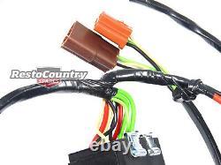 Holden Wb Headlight Wiring Loom + Relais Plug N Play Feu De Tête De Harnais
