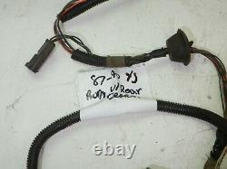 Jeep Wrangler Yj 87-90 Body Wire Harness Rear Defrost Wiring Loom