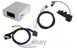 Original Vw Rückfahrkamera High + Kabelbaum + Interface Modul Vw Rns 315 510