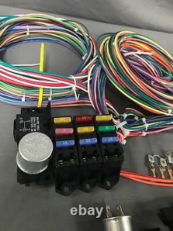 Rebel Wire 12 Volt Wiring Harness, 9+3 Circuit Universal Kit, Made In The USA