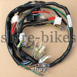 Reproduction Harnais À Boucle Pour Honda Cb750 Four K6 1976 (32100-341-900p)