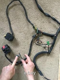 Suzuki Gsxr750 Gsxr 750 Gsxr1100 Slingshot Wiring Loom Harness Interrupteurs Etc