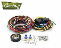 Vw Wiring Loom Avec Fuse Box T1 Beetle Buggy Bug Baja Moteur Électrique Harnais